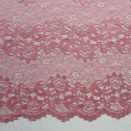 Linear Corded Lace DUSKY PINK