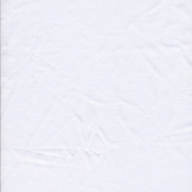 Nylon Spandex Plain WHITE