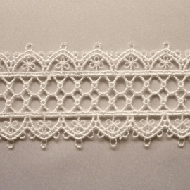 Ornate Filigree Edging Trim IVORY