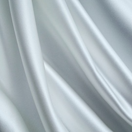 Premium Bridal Silky Feel Duchess Satin WHITE