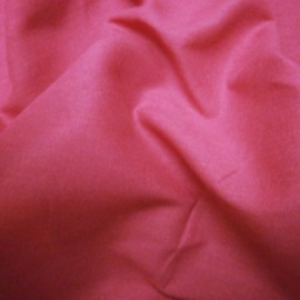 Plain Cotton CERISE