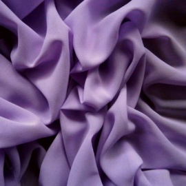 Poly chiffon georgette NEW LILAC