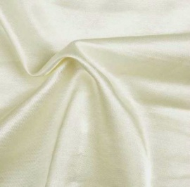 Premium Cotton Sateen IVORY