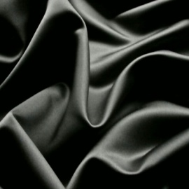 Duchess Satin CHARCOAL
