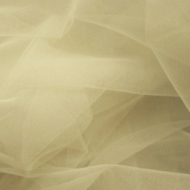 Soft Poly Tulle CHAMPAGNE