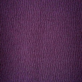 Stretch Ripple Textured Crepe AUBERGINE