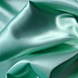 Stretch Satin ICE GREEN