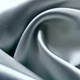 Stretch Satin SILVER