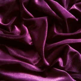 Spandex Velvet PURPLE