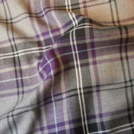 Tartan GREY/PURPLE