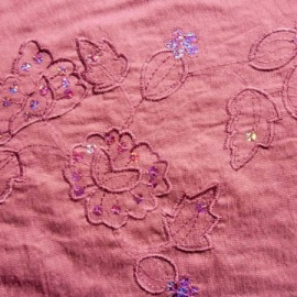 Viscose With Sequin PINK