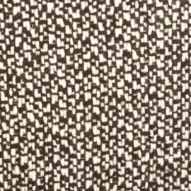 Wool Mix Boucle BLACK WHITE